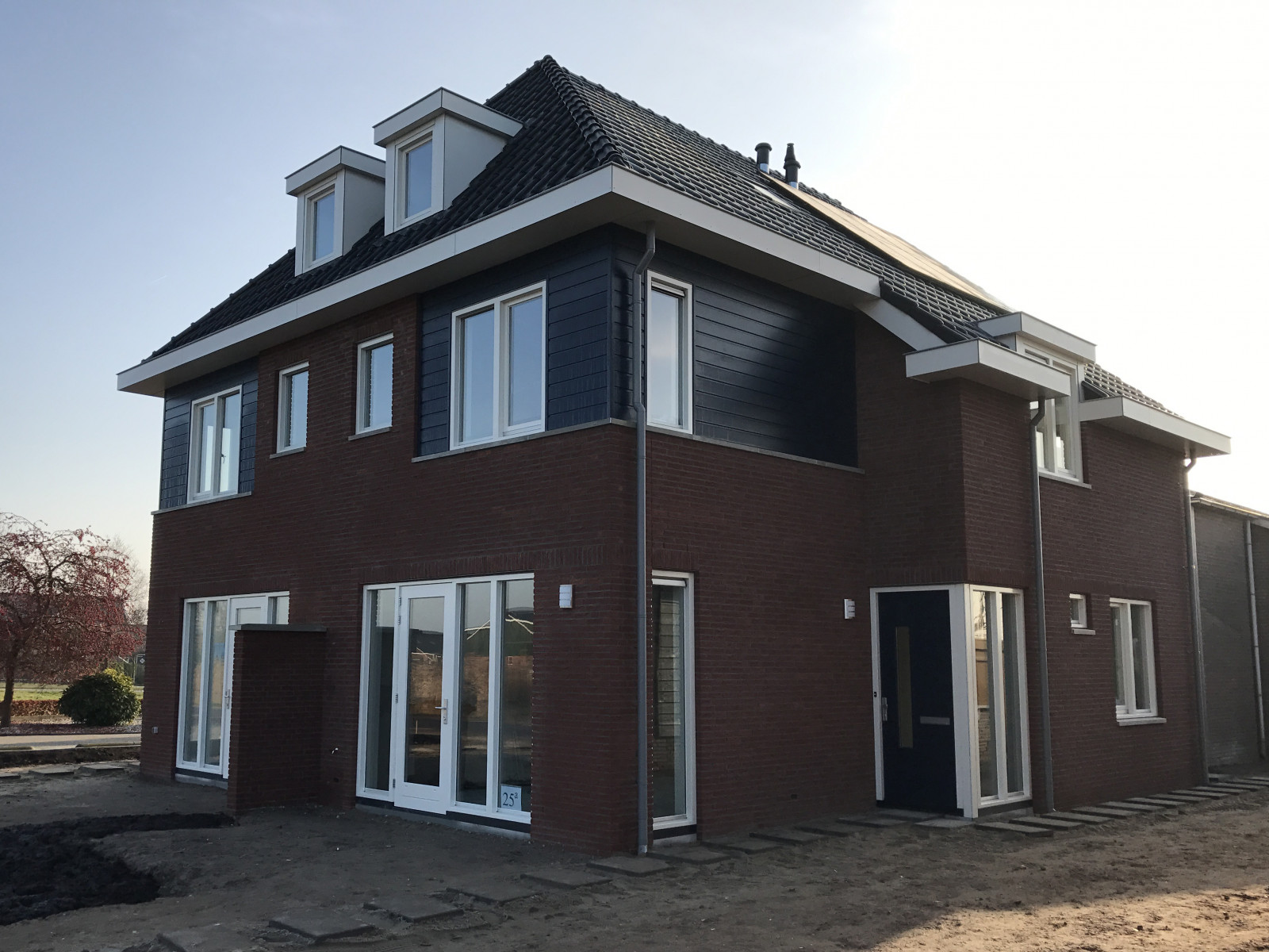 Nieuwbouw woningen Hofwegen 25 a en B Meerkerk Bouwprojecten 42