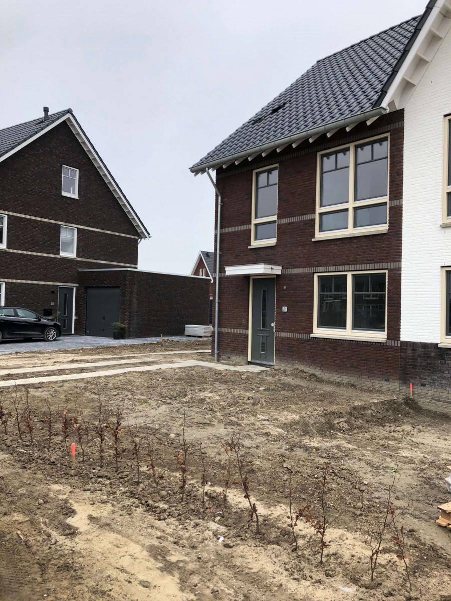 Afbouw woning numansdorp Meerkerk buitenkant huis 1