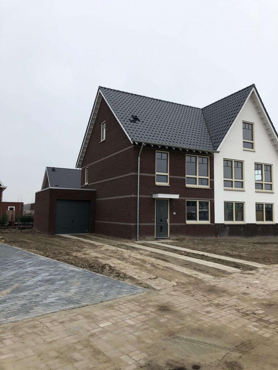 Afbouw woning numansdorp Meerkerk buitenkant huis 2