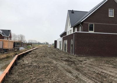 Afbouw woning numansdorp Meerkerk buitenkant huis 4