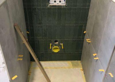 Afbouw woning numansdorp Meerkerk toilet