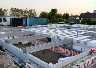 Niewbouwwoningen hofwegen 26 en 27 Bleskensgraaf bouw 3