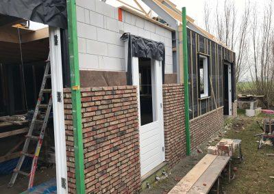 Niewbouwwoningen hofwegen 26 en 27 Bleskensgraaf bouw