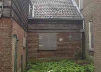 Niewbouwwoningen hofwegen 26 en 27 Bleskensgraaf oude pand 1