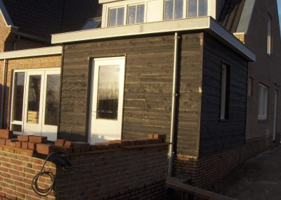 Niewbouwwoningen hofwegen 26 en 27 Bleskensgraaf schuur