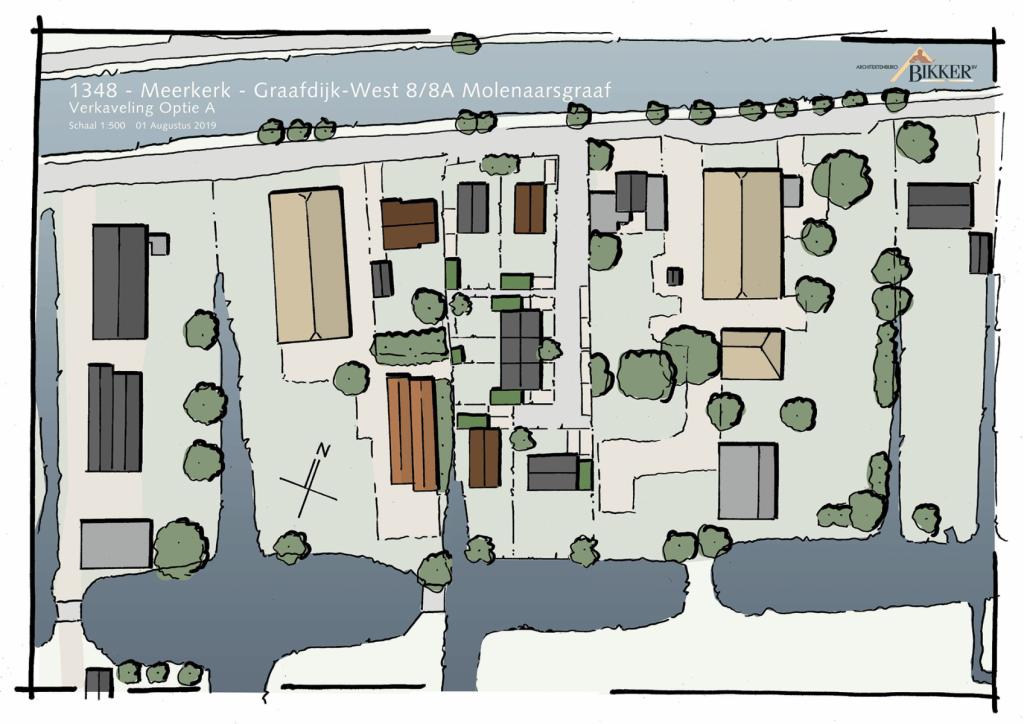 Verkaveling Graafdijk west Molenaarsgraaf bouwen